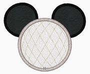 "Mickey Mouse Embroidery Applique Designs ""EPCOT (No Legs)"" - IC1derful Designs"