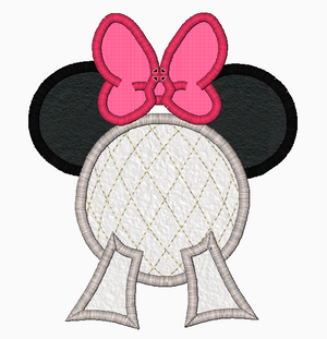 "Minnie Mouse Embroidery Applique Designs ""EPCOT"" - IC1derful Designs"