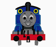 PBS Kids THOMAS The Train Embroidery Applique Designs - IC1derful Designs