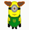 Despicable Me Minion Embroidery Applique Design Combo Set - IC1derful Designs