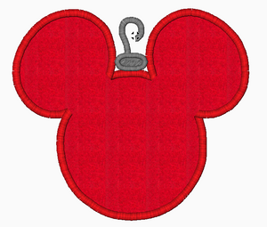 Disney Machine Embroidery Designs Christmas Ornament - IC1derful Designs