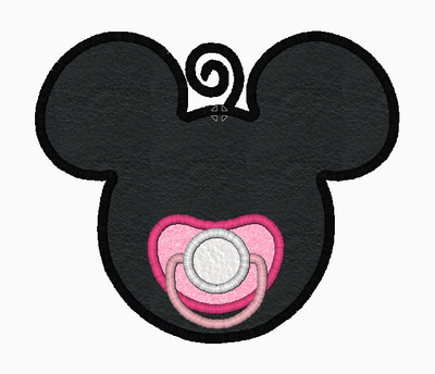 Minnie Mouse Embroidery Applique Designs