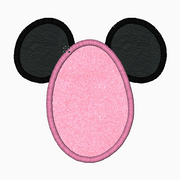 "Minnie Mouse Embroidery Applique Designs ""EASTER"" - IC1derful Designs"