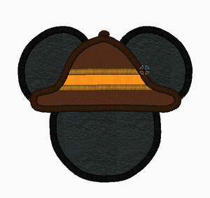 "Mickey Mouse Embroidery Applique Designs ""SAFARI"" - IC1derful Designs"