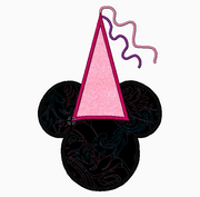 "Minnie Mouse Embroidery Applique Designs ""Princess"" - IC1derful Designs"