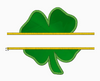 "Shamrock Embroidery Applique Designs ""Split Style 2"" - IC1derful Designs"