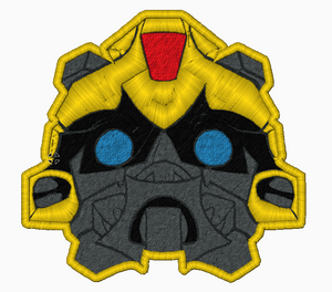 Transformer BumbleBee Embroidery Applique Design - IC1derful Designs
