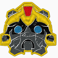 Transformer BumbleBee Embroidery Applique/Fill Design - IC1derful Designs