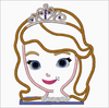 SOFIA The First Embroidery Applique Designs - IC1derful Designs