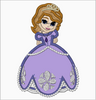 SOFIA The First Embroidery Applique Designs Dress - IC1derful Designs