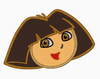 DORA the Explorer Embroidery Applique Design - IC1derful Designs