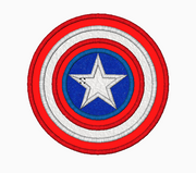 CAPTAIN AMERICA Embroidery Applique Designs - IC1derful Designs