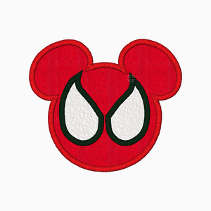 "Mickey Mouse Embroidery Applique Designs ""SPIDERMAN"" - IC1derful Designs"