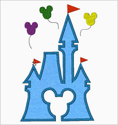 Disney Machine Embroidery Applique Designs - CASTLE - IC1derful Designs