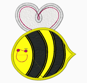 Bumble Bee  Embroidery Applique Design - IC1derful Designs