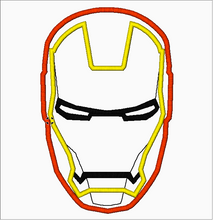 "Embroidery Applique Designs ""IRONMAN"" - IC1derful Designs"