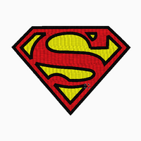 SUPERMAN Embroidery Applique Fill Designs - IC1derful Designs