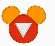 "Mickey Mouse Embroidery Applique Designs ""IRONMAN"" - IC1derful Designs"