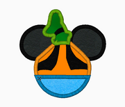 "Mickey Mouse Embroidery Applique Designs ""GOOFY"" - IC1derful Designs"