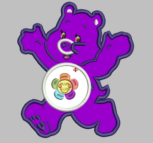 Care Bears Embroidery Applique Designs - HARMONY - IC1derful Designs