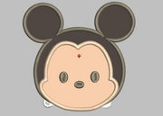 Tsum Tsum Embroidery Design Applique - Mickey Mouse - IC1derful Designs