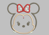 Tsum Tsum Embroidery Design Applique - Minnie Mouse - IC1derful Designs