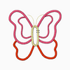 Butterfly Embroidery Applique Design - IC1derful Designs