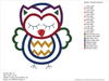 Owls Combo Pack Embroidery Applique Designs - IC1derful Designs