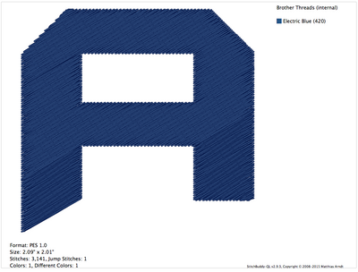 Transformer Font (Fill Stitch) Machine Embroidery Designs - IC1derful Designs