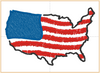 Patriotic Machine Embroidery Designs Fill (United States) - IC1derful Designs