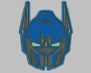 Optimus Prime Embroidery Applique Design - IC1derful Designs