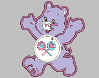 Care Bears Embroidery Applique Designs - SHARE - IC1derful Designs