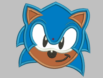 Sonic The HedgeHog Embroidery Applique Designs - IC1derful Designs