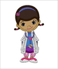 Doc McStuffins Body Machine Embroidery Applique Design - IC1derful Designs