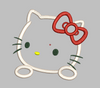 Hello Kitty Embroidery Applique Design - IC1derful Designs