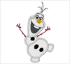 Disney Frozen Embroidery Applique Designs OLAF - IC1derful Designs