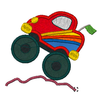 Monster Trucks Embroidery Applique Design Combo Set - IC1derful Designs