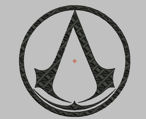 Assassin's Creed Embroidery Applique Designs Download - IC1derful Designs