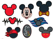 Disney Mickey Mouse Embroidery Applique Designs - IC1derful Designs