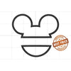 "Mickey Mouse Embroidery Applique Designs ""Split Style"" - IC1derful Designs"