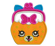 "Shopkins Embroidery Applique Designs ""Jingle Purse"" - IC1derful Designs"