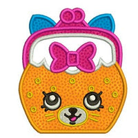 Shopkins Embroidery Applique Designs Fashion Group Combo Set - IC1derful Designs