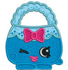 "Shopkins Embroidery Applique Designs ""Harriet Handbag"" - IC1derful Designs"