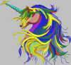 Unicorn Machine Embroidery Design - High Quality 3D - IC1derful Designs
