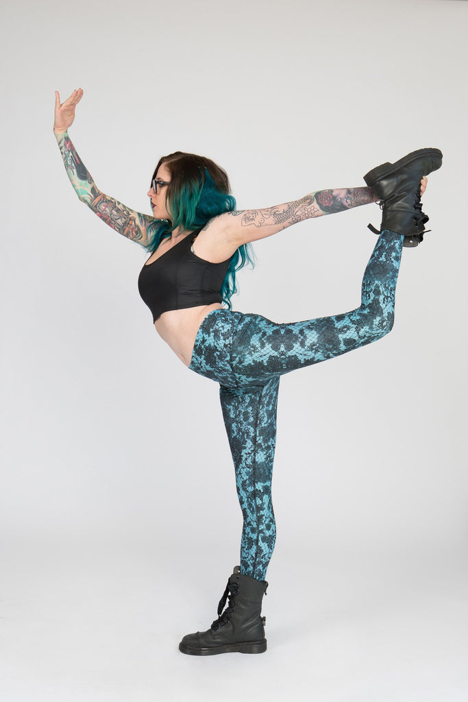 Luminance Teal Voltage Pant