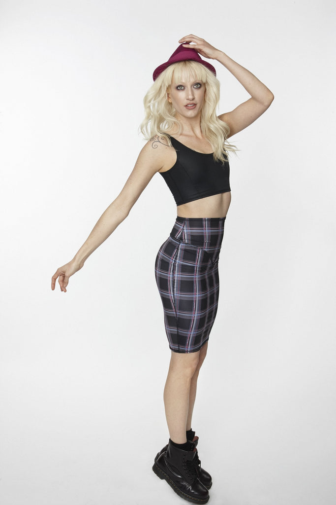 Fortress Noir Empire Skirt