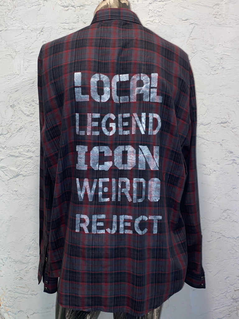 WEIRDO REJECT SHIRT