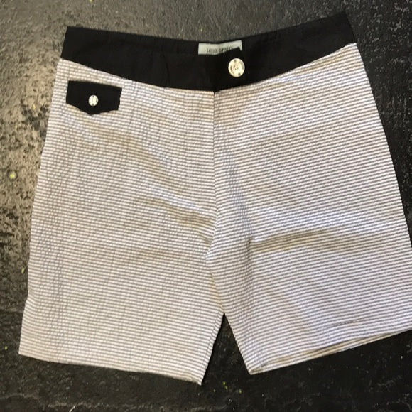 LATITUDE BLACK BOAT SHORT