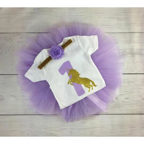 Songbird First Birthday Onesie - BumbleBox