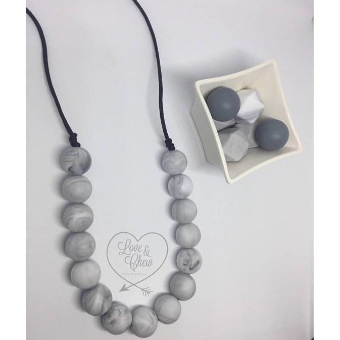 Love and Chew Kids Teething Necklace - BumbleBox